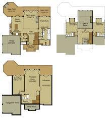 house plans with walkout basements. Rustic Mountain House Floor Plan With Walkout Basement Classic Plans Basements E