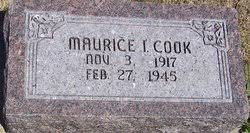 Maurice Ivan Cook (1917-1945) - Find A Grave Memorial