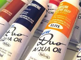 Albright Art Supply New Duo Aqua Oil Colors