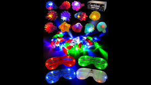 Joyin Lights Review Joyin Toy 60 Pieces Led Light Up Toy Party Favor Party Pack 44 Led