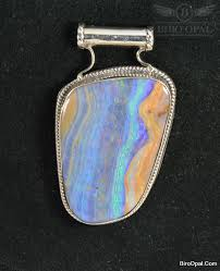 solid natural boulder opal pendant silver return to previous page lightbox