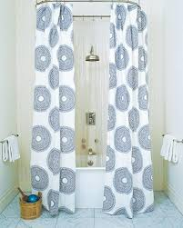 refreshing extra long shower curtain