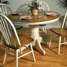 round wooden kitchen table and chairs interior the home design exquisite painted oak dining table and round wooden kitchen table