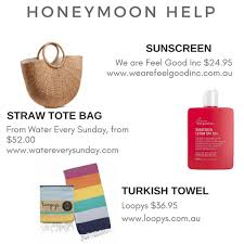 honeymoon gifts for a bridal shower