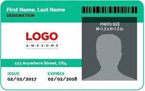 Auto Insurance Templates 650 410 Ms Word Photo Id Badge