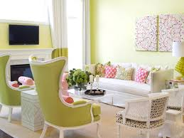 Pink Living Room Pink And Green Living Room Beautiful Pink Decoration
