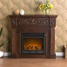 huntington electric fireplace espresso 47 gif
