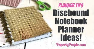 discbound notebook planner ideas all my best posts about how to use