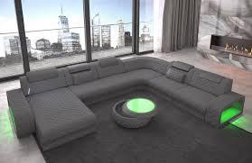 Modern Fabric Sofa Charlotte Xxl