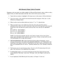 012 Mla Format Template Research Paper Microsoft Museumlegs