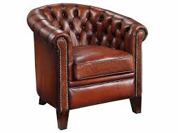 leather chesterfield chair. Hand Dyed Leather Chesterfield Chair