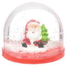 <b>Фигурка декоративная</b> Шар водяной со снегом Дед мороз 27163 ...