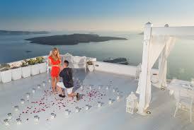 Dana Villas Marriage Proposal in Santorini - Santorini Photographer | Pre  Wedding & Marriage Proposals Greece | Studio Kristo Photography Greece