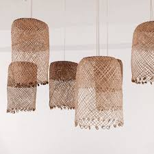 lighting woven lamp shade scenic borneo assortment dining room design ball light shades australia