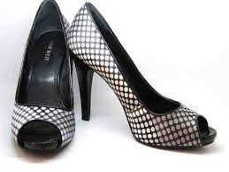 Nine West Shoe Size Chart Nine West Shoes Black And White Polka Dot High Heel Pump Size 7 1 2