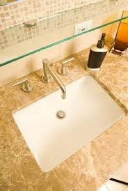 how to install a bathroom sink in a granite countertop