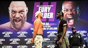 Tyson Fury in trilogy fight ...