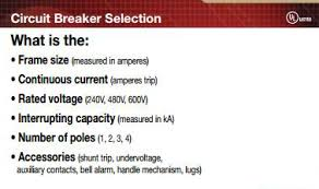Molded Case Circuit Breakers Mccb Components And Applications