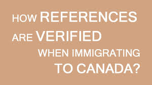 How Work References Are Verified For Immigration To Canada Youtube