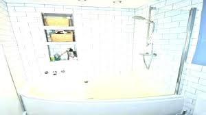 acrylic tub shower combo one piece insert no dome kohler best