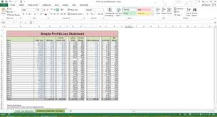 profit and loss excel spreadsheet profit loss statement excel spreadsheet template microsoft