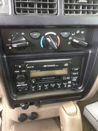 how to 2001 1st gen aftermarket cd player install tacoma world first remove the negative battery terminal