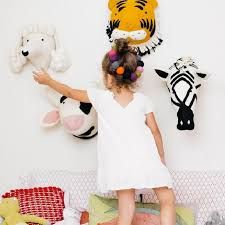 Animal Giraffe Elephant Flamingo Head Wall Mount Stuffed Plush Toys Bedroom  Decoration felt Artwork Wall Dolls Photo Props-in Stuffed & Plush Animals  from ...