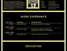 Art Director Resume Director Resume Sample Art How To Write A