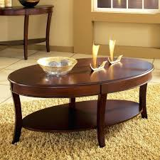 hayneedle coffee table silver oval glass