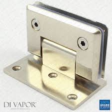 stainless steel hinge door bracket glass clip