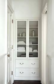 finding bathroom storage for a small difficult option removing linen closet door doors with glass double door closet