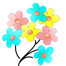 Image result for fun flower clipart