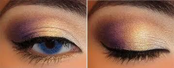 subtle mauve eye makeup technique 1