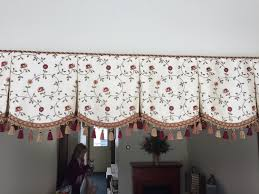 finish off the top of your valance with welting or braid cord without sewing you