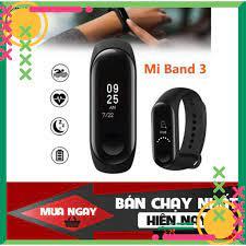 FREE SHIP] 💥BẢO HÀNH 1 NĂM💥 Vòng Tay Đồng Hồ Thông Minh Band M3 CHÍNH HÃNG  - Đồng hồ theo dõi sức khỏe, Chống Nước💥S