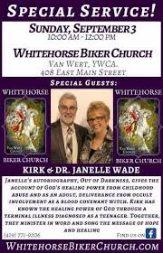 Whitehorse Biker Church hosting Kirk and Dr. Janelle Wade - The Lima News