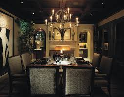 elegant dining room lighting. Beautiful Dining Room With Fireplace And Antique Chandeliers Elegant Lighting S