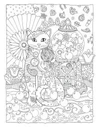 Cat Coloring Pages Adults Cat Coloring Pages For Adults Printable