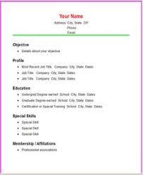 Resume Examples Easy Resume Examples Sample Resume Resume