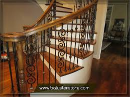 Wrought iron stair railing Interior Fullsize Of Radiant Iron Stair Balusters Parts Iron Handrails Interior Stair Iron Balusters Wroughtiron Stair Railings Chmelorainfo Radiant Iron Stair Balusters Parts Iron Handrails Interior Stair