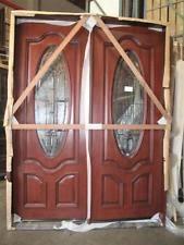 exterior double doors. Mahogany 8ft Exterior Double Door Pre-hung\u0026Finished, DMH8350-LP Doors S