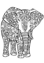 Elefanten sind großformatige säugetiere, die für ihr besonderes aussehen bekannt sind. Riesiger Elefant Razukraski Com