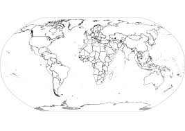 World Map Black And White Printable With Countries World Map Black And White Printable With Countries Simple Free New
