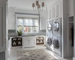 double washer and dryer. Interesting Washer Laundry Room With Stacked Double Washer And Dryer Laundry Chute  Floor To Ceiling Cabinets For Double Washer And Dryer C