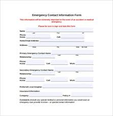 Personal Info Form Templates Information Sheet Template Lovely Pri ...