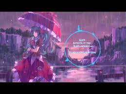 nightcore singing in the rain umbrella