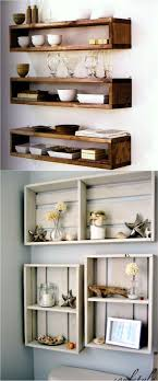 easy and stylish diy floating shelves wall shelf installation piece rainbow kitchen dresser ikea led ceiling
