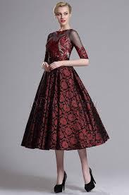 Js Designs Dresses Vintage Half Sleeves Prom Cocktail Dress 04162017