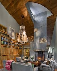 contemporary rustic interior croatia rustic yet contemporary living room by centerbrook architects