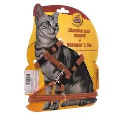 <b>Ошейники</b> для кошек, поводки, шлейки | Купить с доставкой
